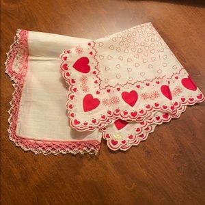 Other - Handkerchiefs - 2 Vintage NWT